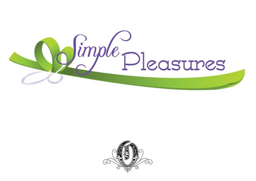 Logo from Simple Pleasures Gift Basket Website that I built